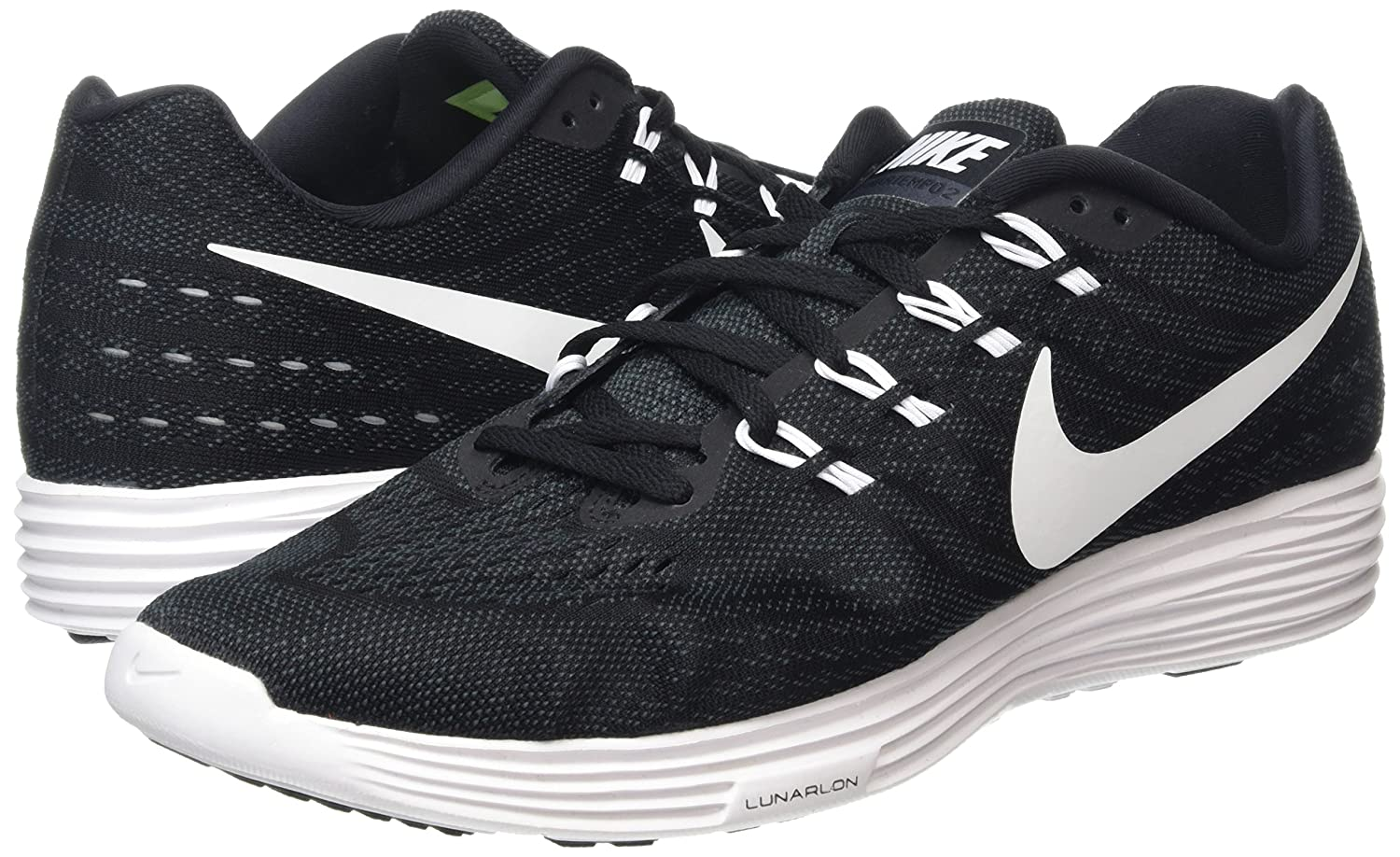 big sale c9d0f cd56e NIKE Lunartempo 2 Running Shoes Black 818097 002, Size  US 12. 5  Buy  Online at Low Prices in India - Amazon.in