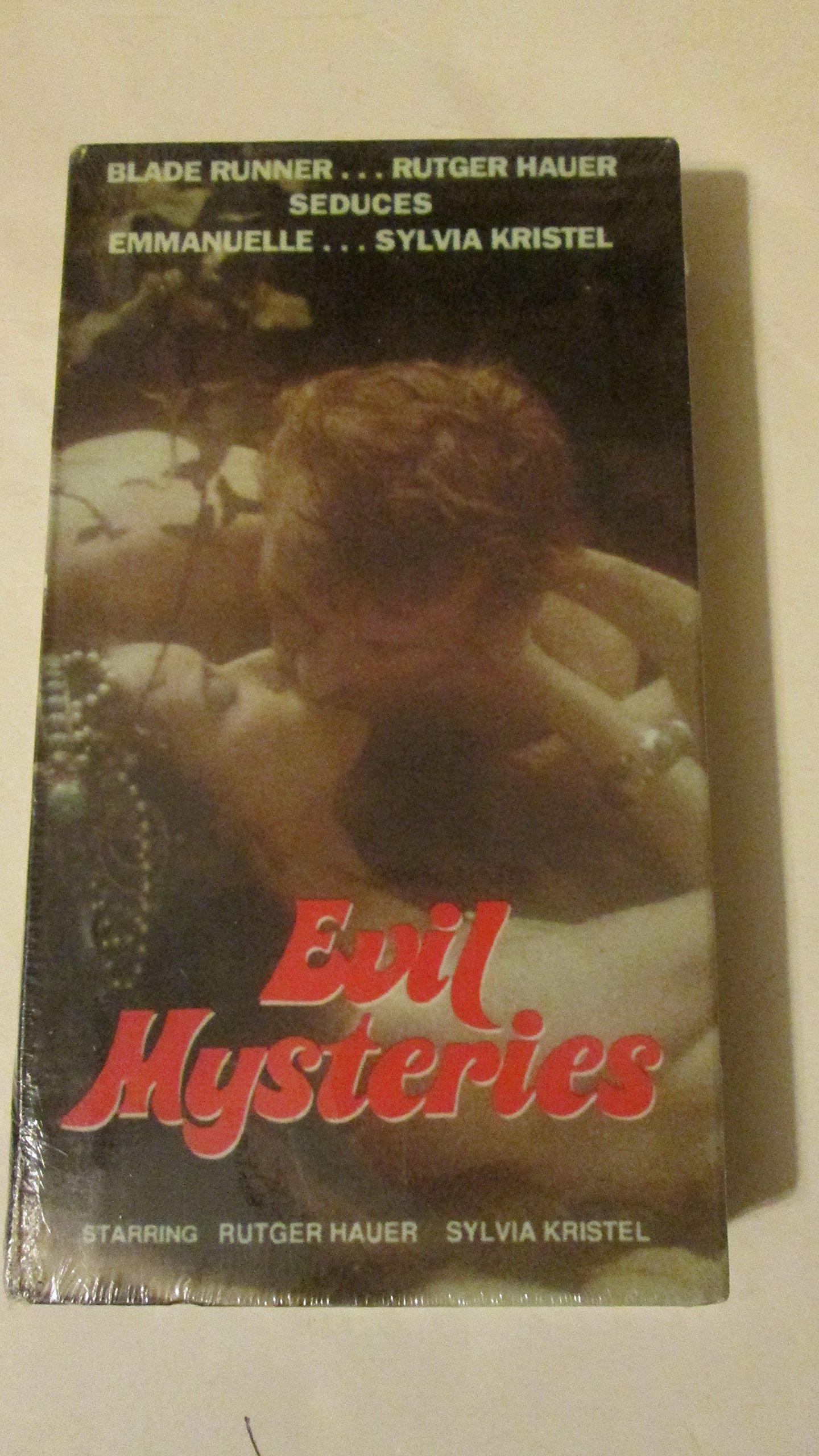 Evil Mysteries [VHS] Rutger Hauer