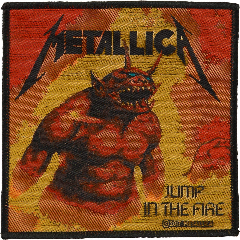 Metallica Patch Jump In The Fire