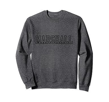 69576d6c6fe Unisex Marshall Thundering Herd NCAA Sweatshirt maru1001 2XL Dark Heather