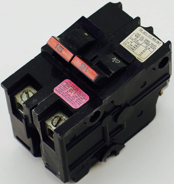 CTL Type NA  2 Pole 50 Amp Stab-lok Circuit Breaker