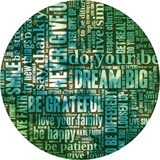 "product image for Next Innovations Motivational Wall Art Dream Big 16"" Round"