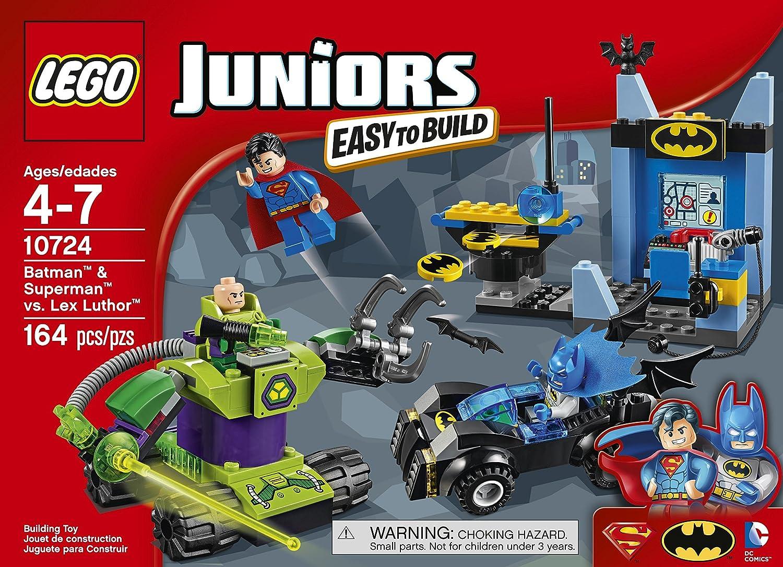 LEGO Juniors 10724 Batman & Superman vs Lex Luthor Building Kit (164 ...