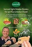 Smoke Genie® - Legno di faggio per affumicatura a freddo, 6 ore e oltre di affumicatura (Confezione da 12)