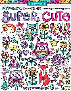 Notebook Doodles Super Cute Coloring Activity Book Design Originals 32 Adorable