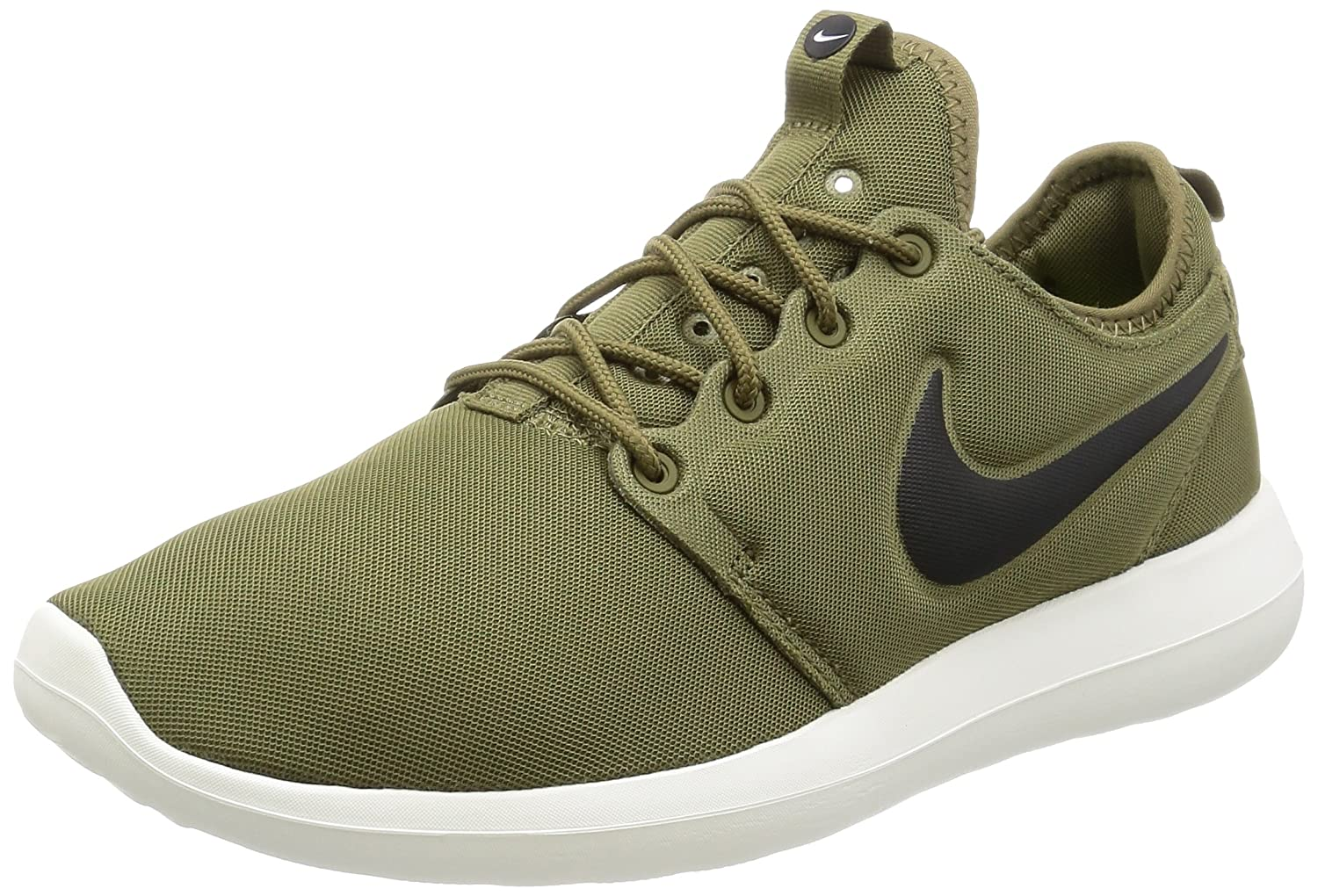 0ba6fc57e28f Nike Mens Roshe Two Running Shoes Iguana Black-SAIL-Volt 844656-200 Size  11. 5  Buy Online at Low Prices in India - Amazon.in