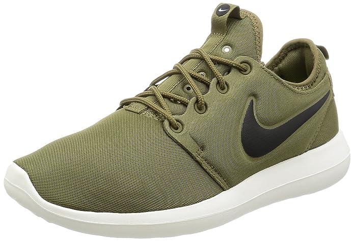 Nike Roshe Two Sneakers Herren grün mit schwarzem Streifen (Iguana/Black/Sail/Volt)