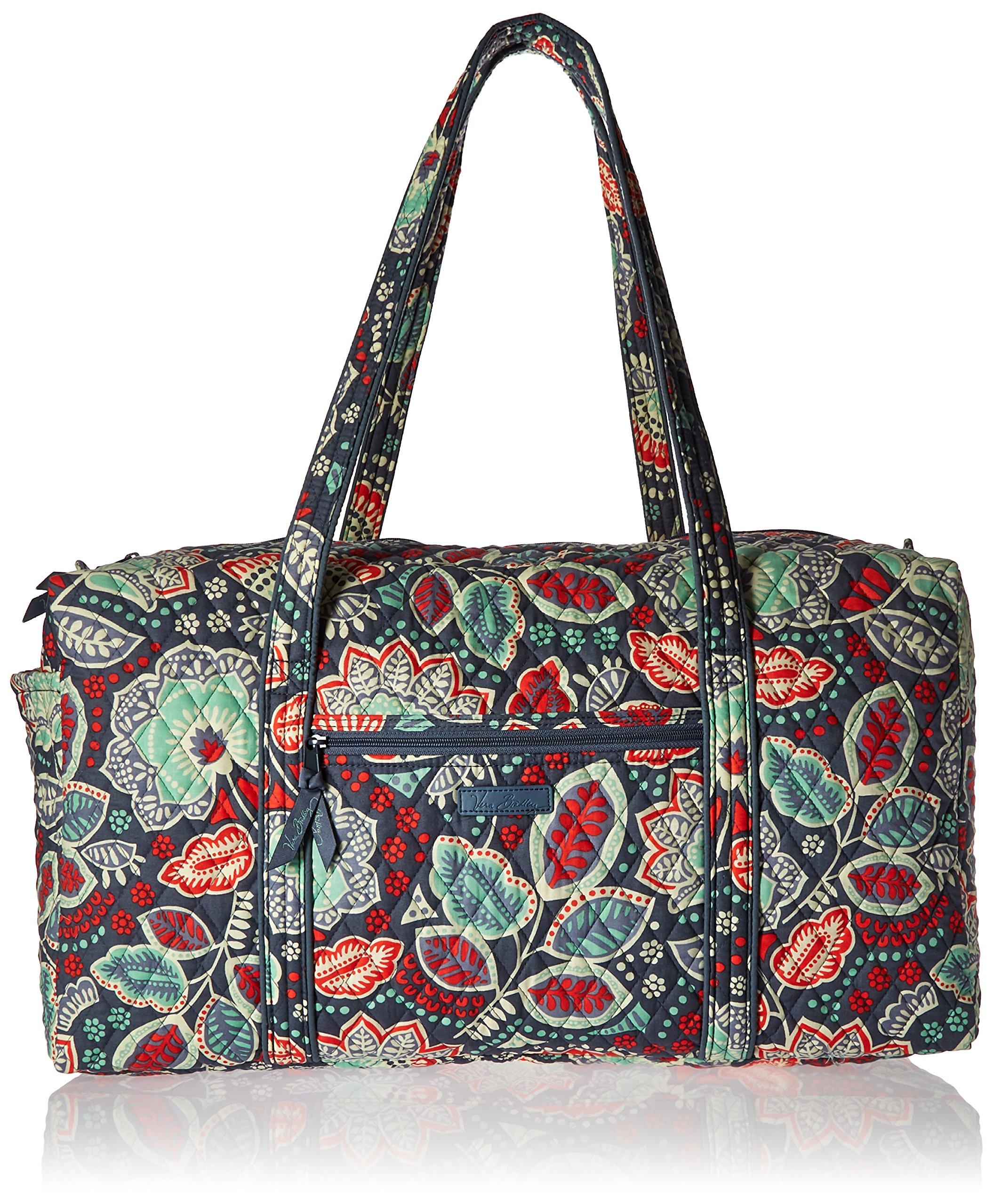 Vera Bradley Luggage Women's Large Duffel Nomadic Floral Duffel Bag by Vera Bradley (Image #1)