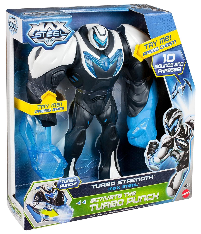 Max Steel - Figura de juguete (Mattel Y1411): Amazon.es: Juguetes y juegos