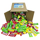 Laffy Taffy Assorted Fruit Flavors, Cherry Green Apple Banana Candy Bulk Party Box 6x6x6 Family Size