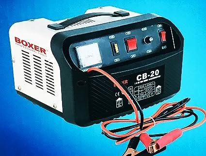 Boxer Cargador Batería coche BX de 8001 (para baterías de ...