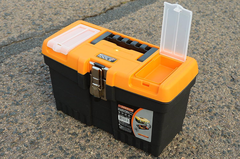 13 Jumbo – Caja de herramientas vacía Caja de herramientas caja de herramientas caja de herramientas caja de plástico – 32 x 16 x 19 cm: Amazon.es: Bricolaje y herramientas