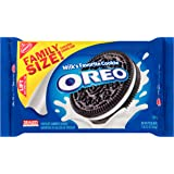 Oreo Chocolate Sandwich Cookies - Family Size, 3.1 Ounce