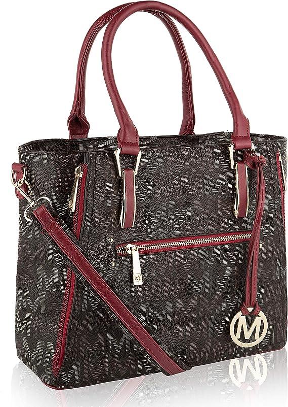 Mia K Collection Crossbody Shoulder Handbag for Women