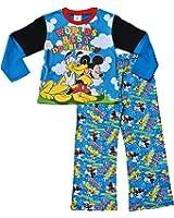ThePyjamaFactory Disney Boys Mickey Mouse and Pluto Pyjamas 1 to 6 Years W15