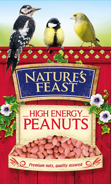 Westlands Horticulture Ltd Nature's Feast 12.75Kg High Energy Peanuts