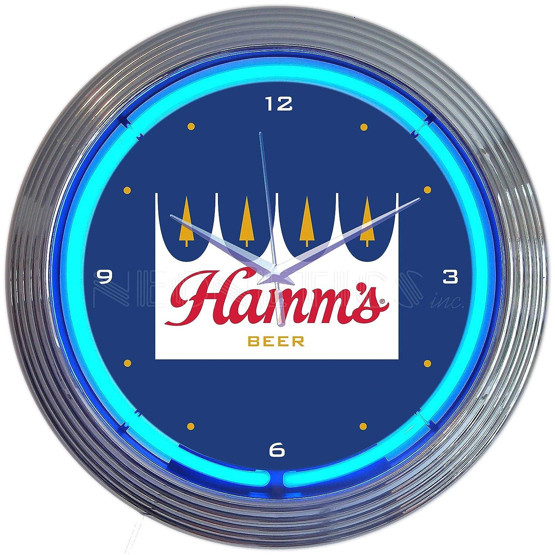 Neonetics Hamms Beer Neon Clock