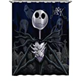 disney nightmare before christmas moonlight madness shower curtain