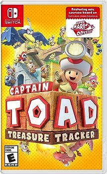amazon com captain toad treasure tracker nintendo switch