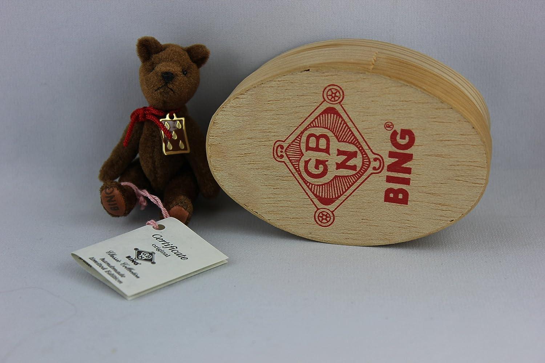 Precio al por mayor y calidad confiable. Bing SCHUCO - 40107 - de galleta con con con forma de oso, 8 cm, totalmente articulado, caja de madera  con 60% de descuento