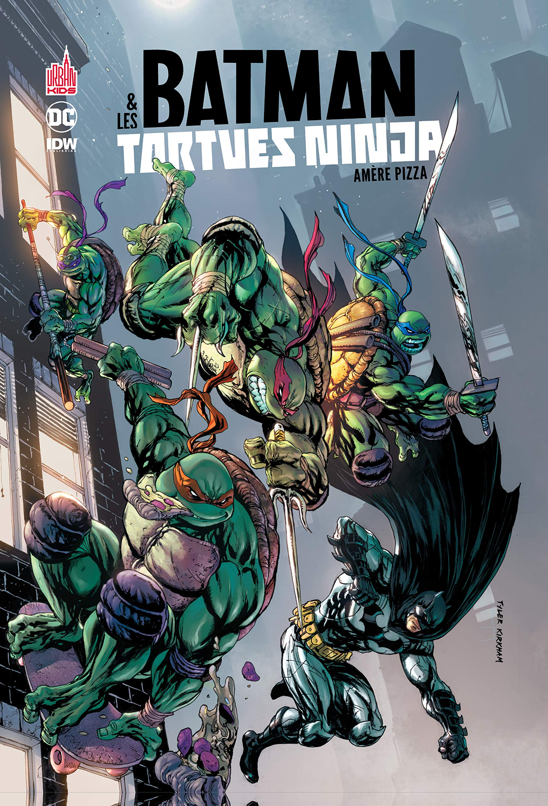 Batman & les Tortues Ninja tome 1 (URBAN KIDS): Amazon.es ...