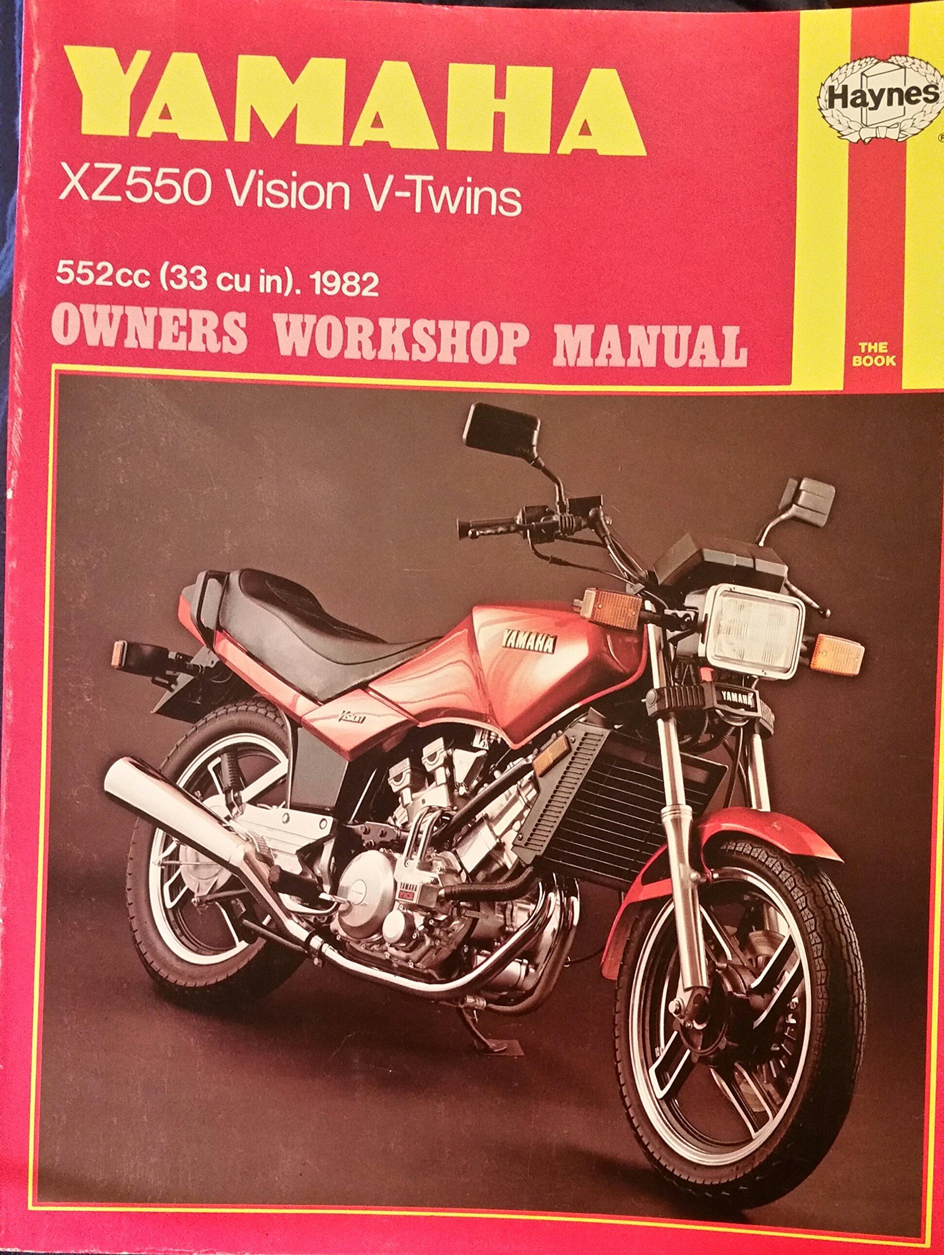 yamaha xz550 vision v twins owner s workshop manual curt choate rh amazon com 82 Yamaha Vision 550 Yamaha Vision Parts