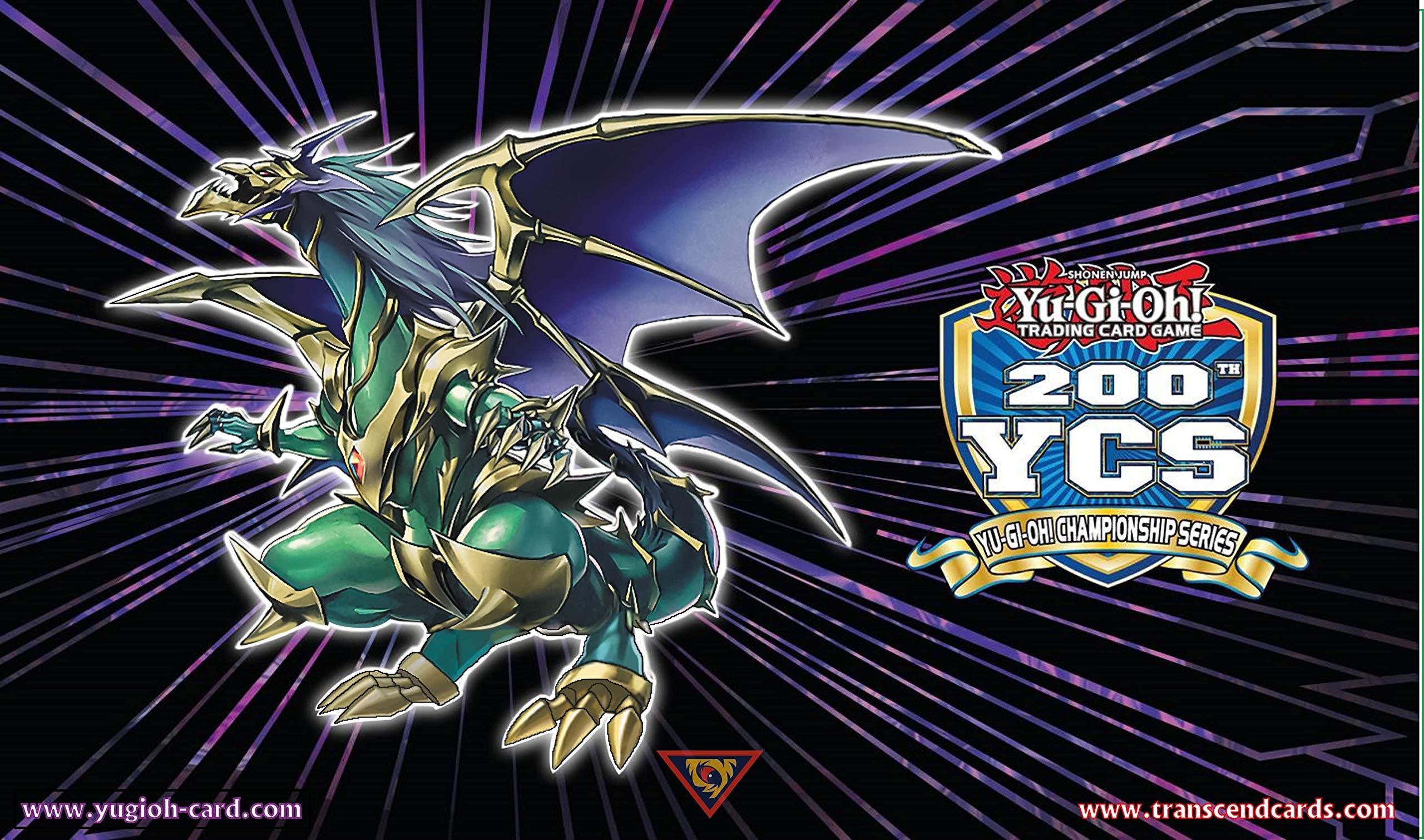 Playmat: Chaos Emperor, The Dragon of Armageddon (YCS 200 Topcut 64 Replica)