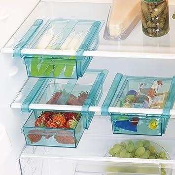 Klemm Schublade Für Kühlschrank 3er Set Transparent Schublade