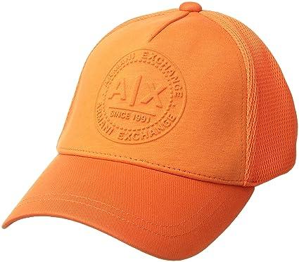 f10f5dcbd7373 Amazon.com  Armani Exchange Men s Baseball hat Flame ONE Size  Clothing