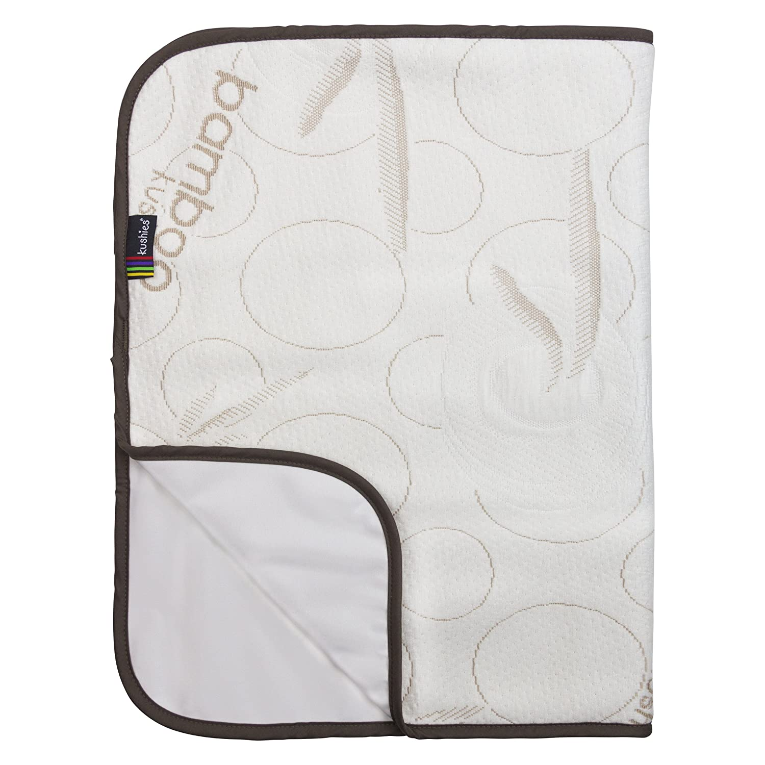Kushies Bamboo Deluxe Change Pad, Beige O841