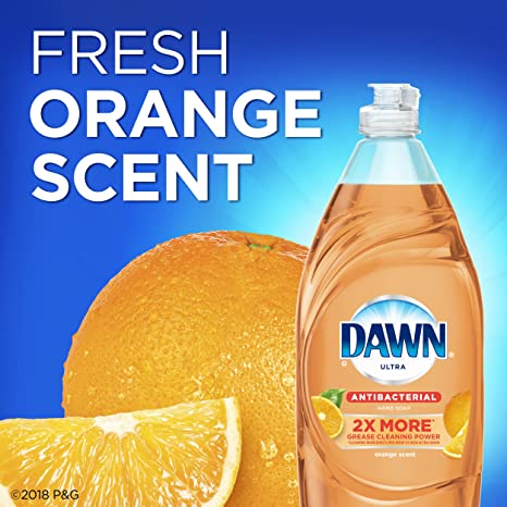 Amazon.com: Dawn Ultra Antibacterial Hand Soap, Orange, 19.4 Fluid Ounce: Health & Personal Care