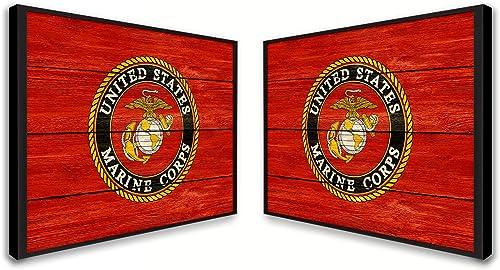 U.S. Marine Corps Flag Military Military Decor