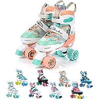 Patines 4 Ruedas Ajustable Disco Roler Skate Patines