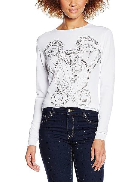 Versace Jeans EB4HNB811_E56128, Camisa para Mujer, Blanco (Bianco-E003), XXS