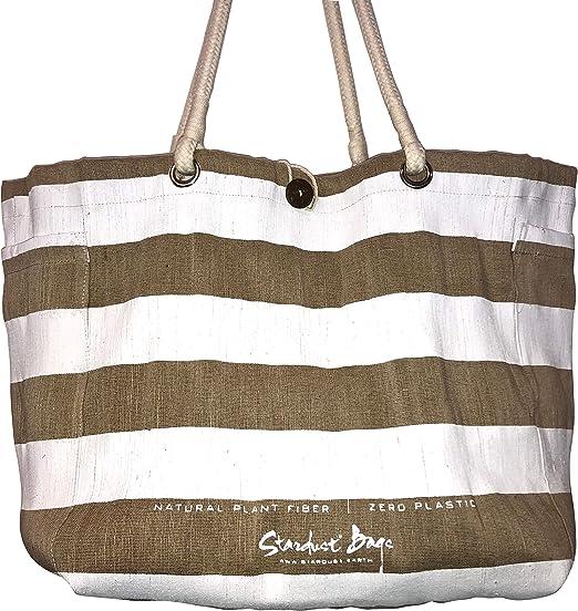 Foldable Jute Shopping Shoulder Bag Handbag Storage Reusable Eco Tote Bag
