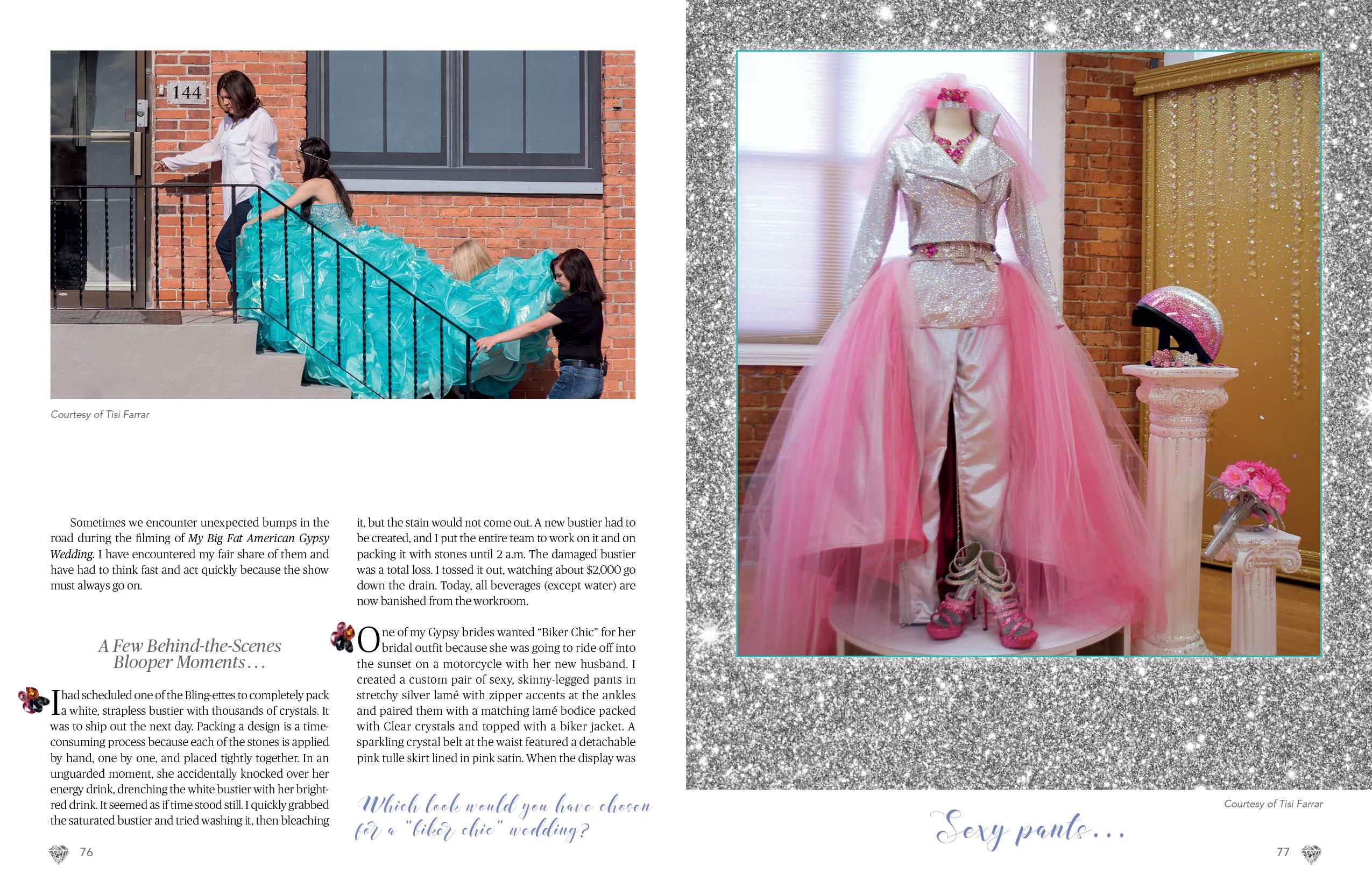 738fed3932e9 Bling!: The Uncommon Crystal Couture World of Sondra Celli: Sondra Celli,  Tisi Farrar: 9780764357336: Amazon.com: Books