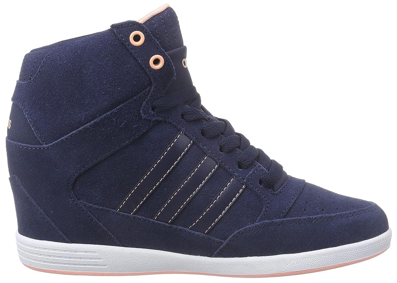 adidas Super Wedge W - Zapatillas de deporte exterior para mujer, color azul, talla 42: Amazon.es: Zapatos y complementos