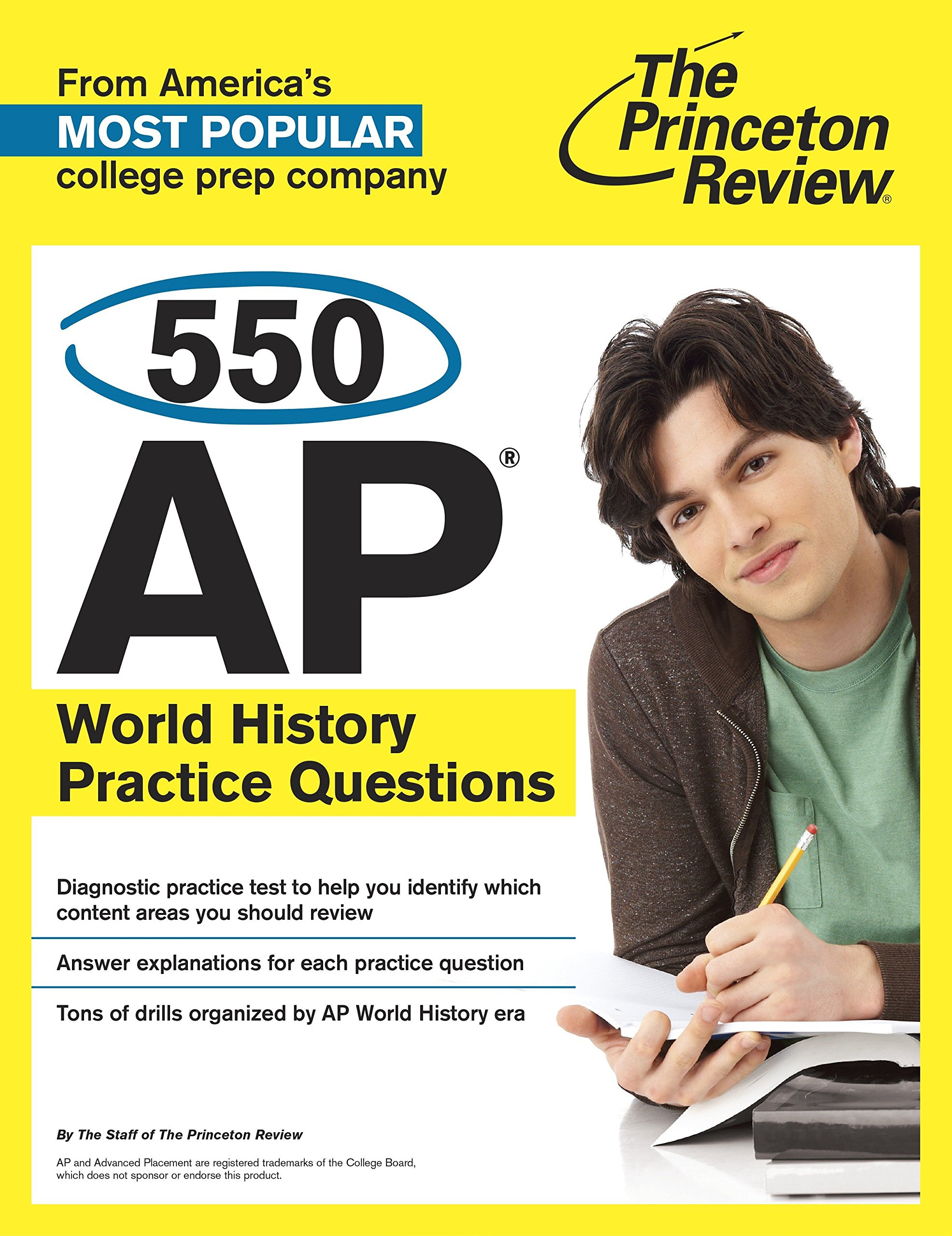 Buy 550 AP World History Practice Questions (College Test