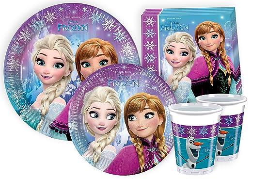 112 opinioni per Ciao Y2499- Kit Party Festa in Tavola Disney Frozen per 24 Persone (112 Pezzi: