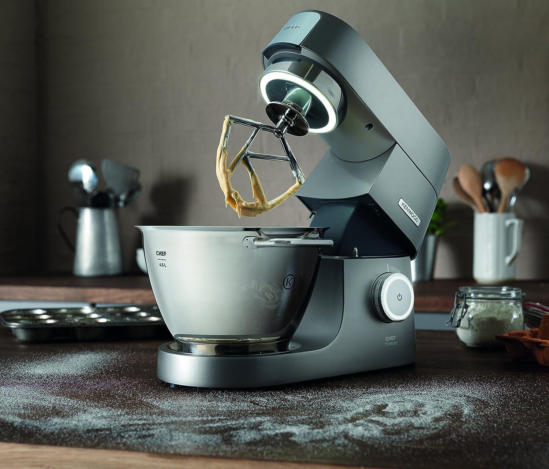 1500w Kenwood Kvc7300s Chef Titanio Cucina Macchina 4.6 L Argento