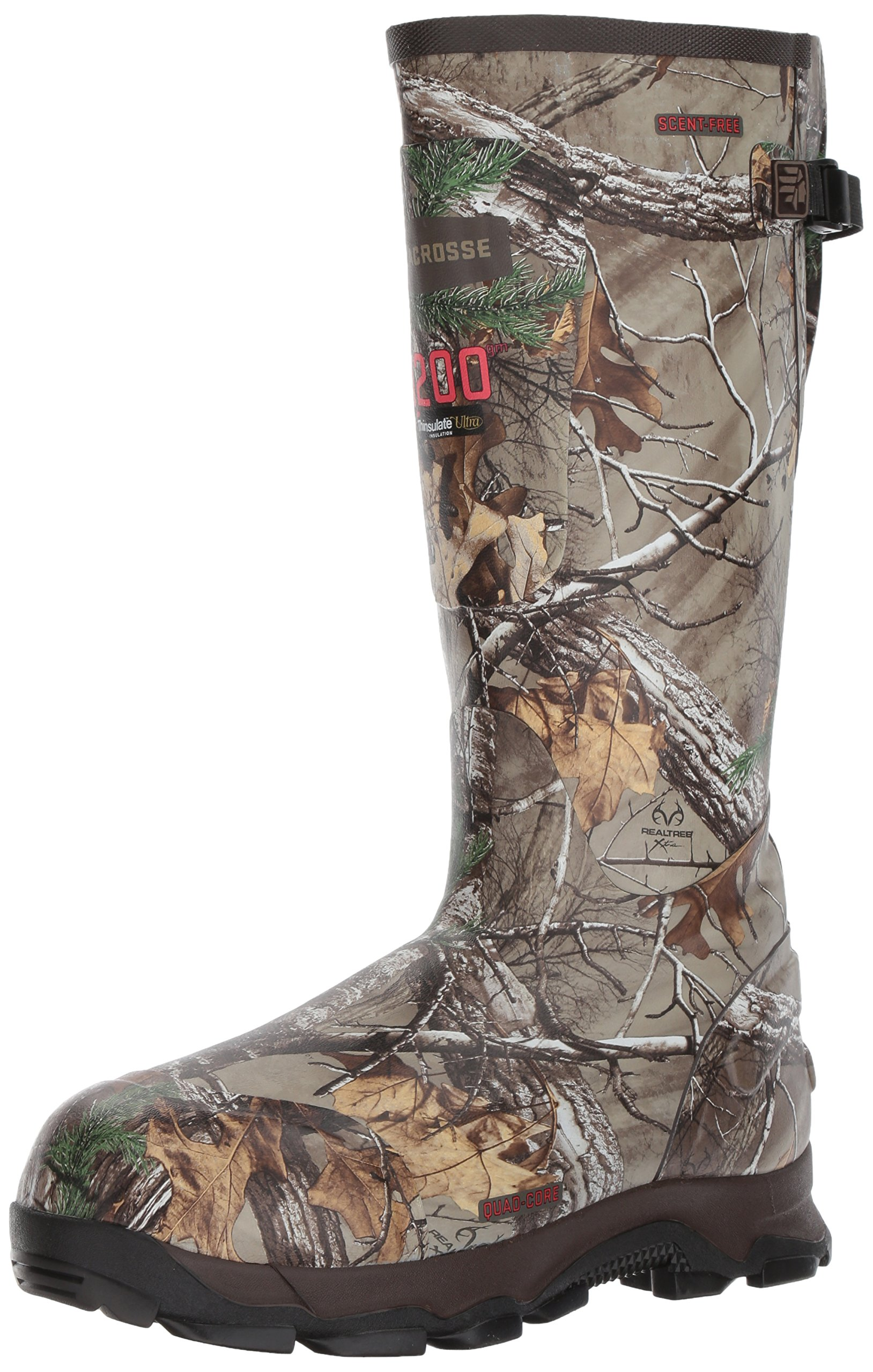 Lacrosse Men's 4xBurly 18'' 1200G Hunting Shoes, Realtree Extra, 7 D US by Lacrosse