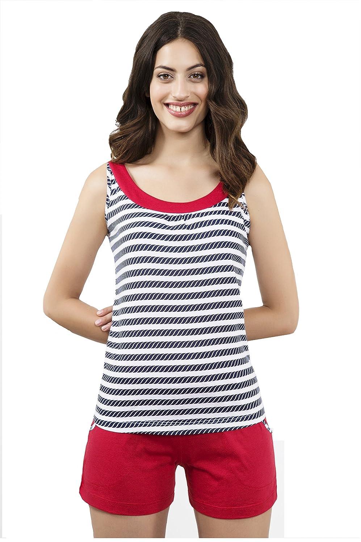 Pijama de tirantes de señora dos piezas. (Hasta la talla 52) (52): Amazon.es: Ropa y accesorios