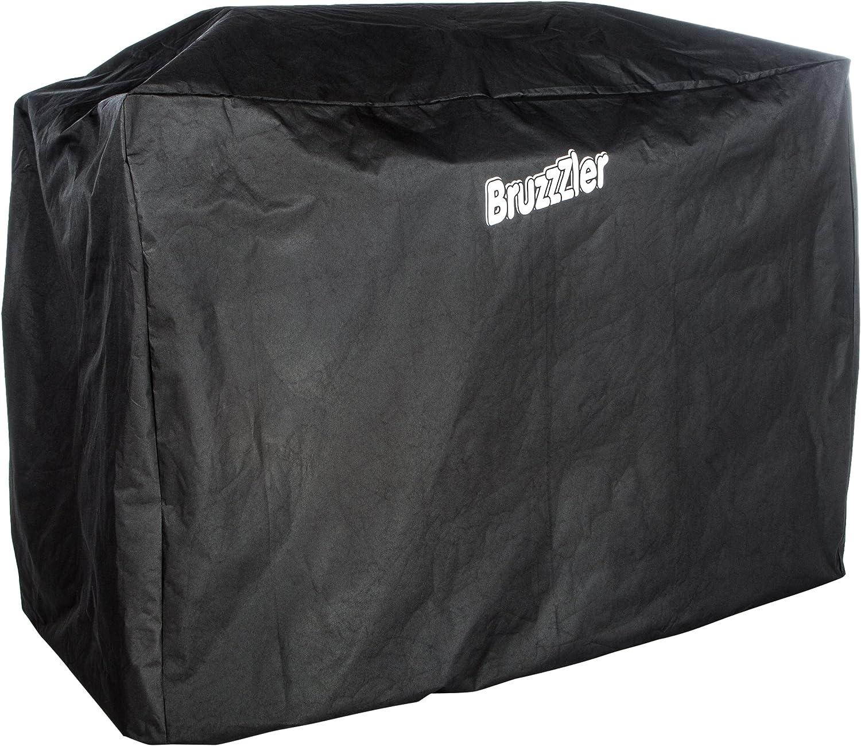Bruzzzler 200100001094 Cubierta, 145 x 115 x 65 cm, Negro, 48x40x2.5 cm
