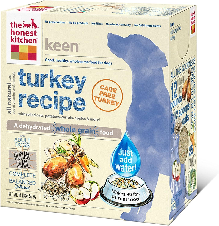 Honest Kitchen Keen: Turkey and Whole Grain Dog Food 10 Pound