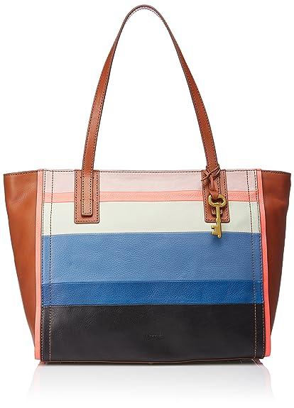 57e1cbc406fc Fossil Emma Women s Handbag (Multi-Colour)  Amazon.in  Shoes   Handbags