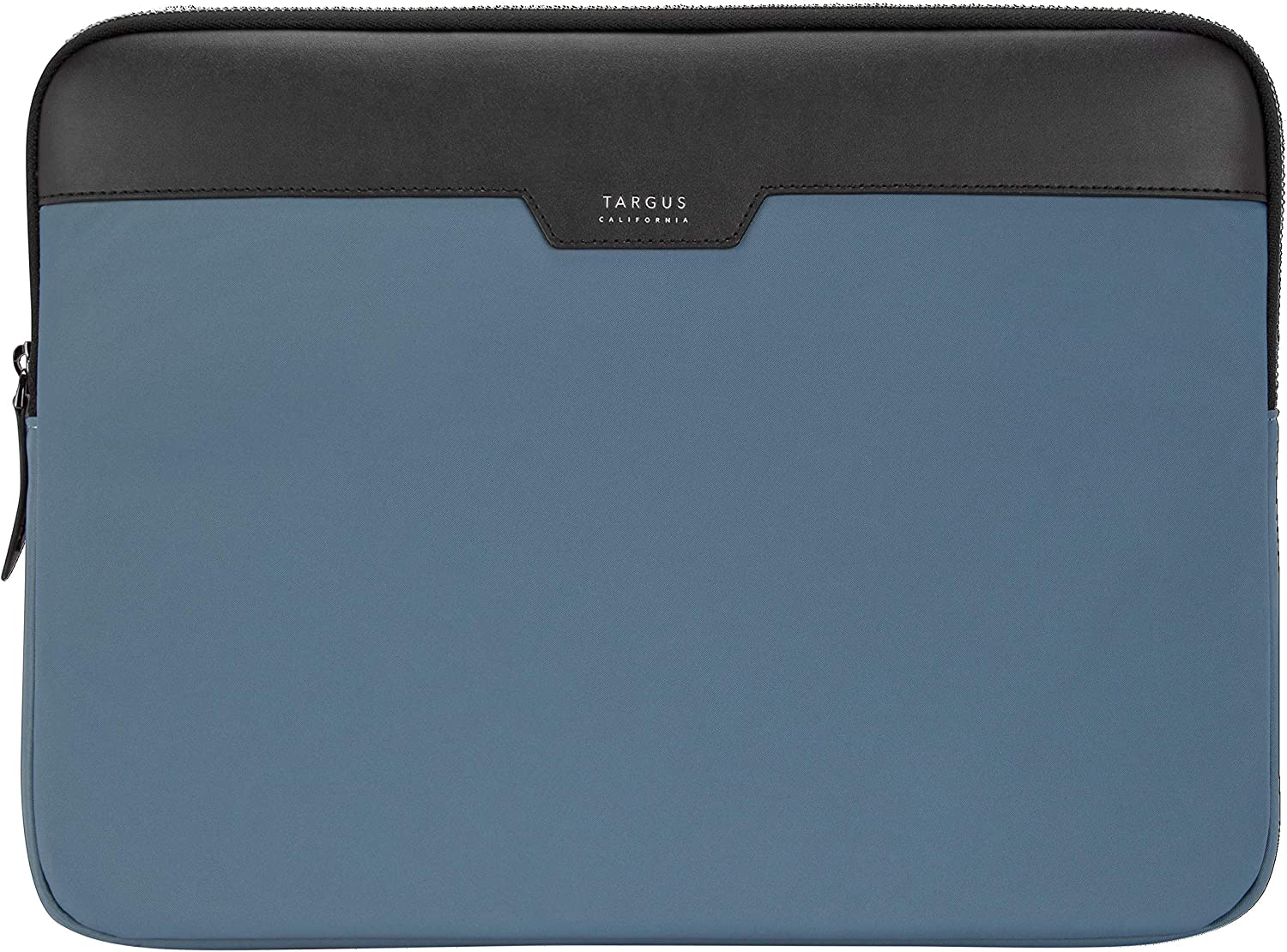 Targus Newport Modern Style Sleeve with Durable Water-Repellent Nylon, Back Zip Pocket Pouch, Protective Slipcase fits 11-12-Inch Laptop/Notebook, Blue (TSS100102GL)