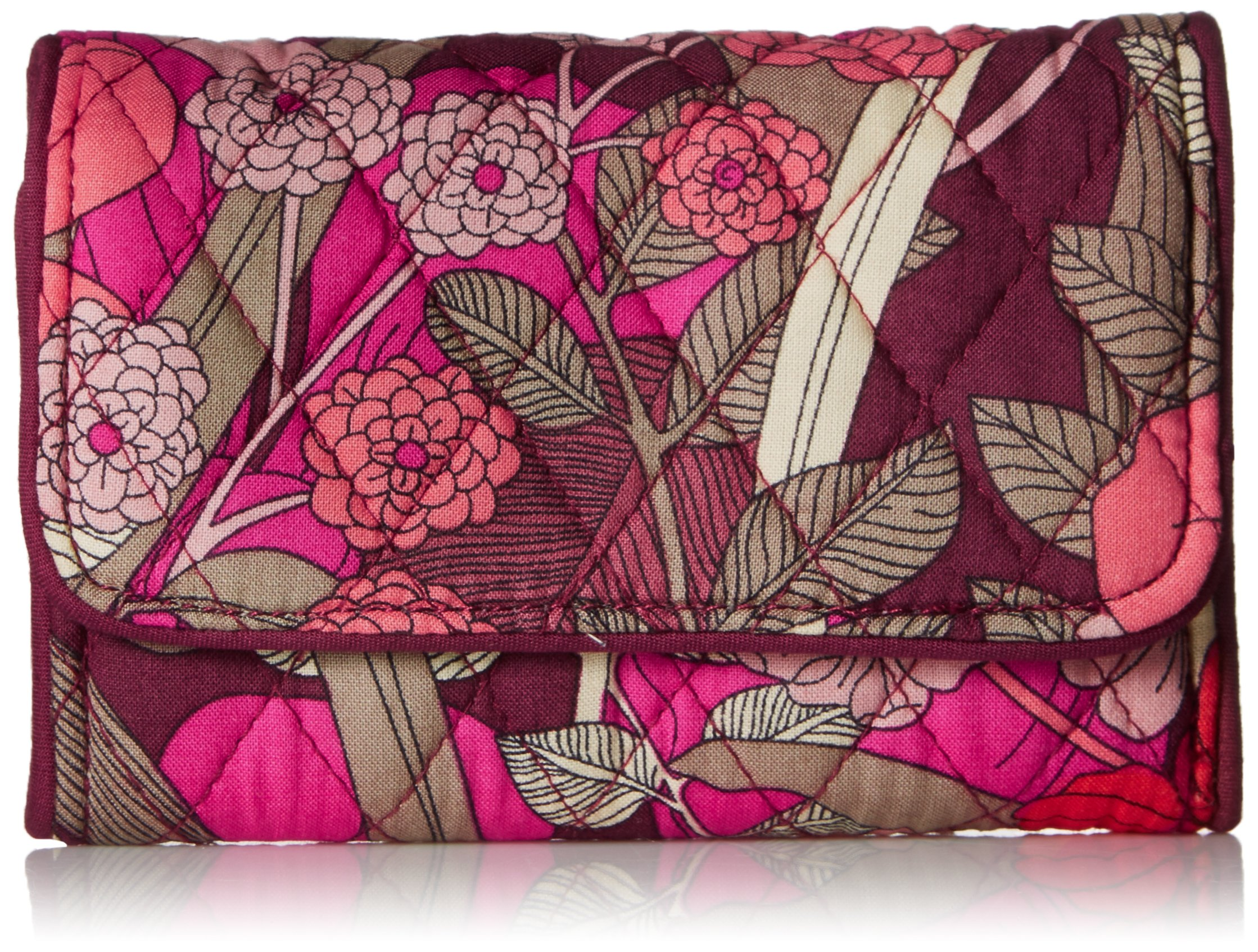 Riley Compact Wallet Bohemian Blooms, One Size