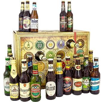 Bier Weihnachtskalender.Bier Adventskalender Welt Und Deutschland 24 Flaschen Bier