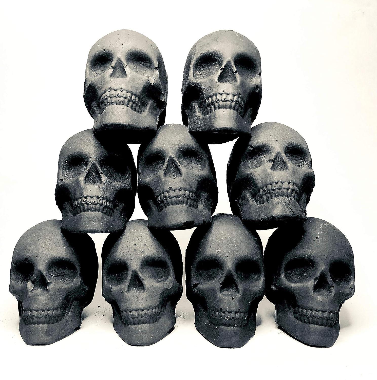 9 carbón design de calavera, craneo, para shisha, cachimba : Skullforshisha
