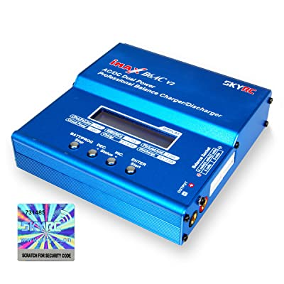 SKYRC B6 AC V2 50W LiPo LiFe LiIon NiMH NiCd Battery Charger Discharger: Toys & Games